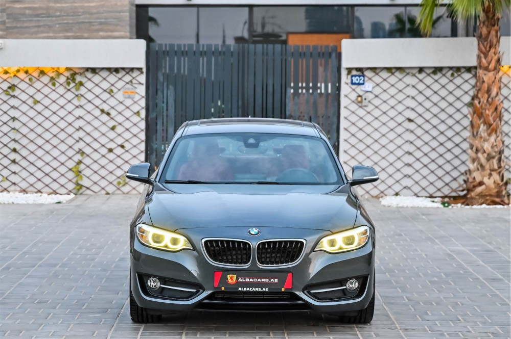 buy second hand BMW 220i Sport Coupe without downpayment