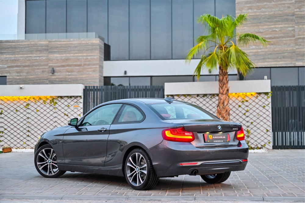 buy second hand BMW 220i Sport Coupe in Dubai