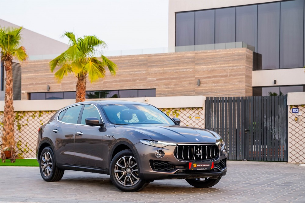 buy used Maserati Levante without downpayment
