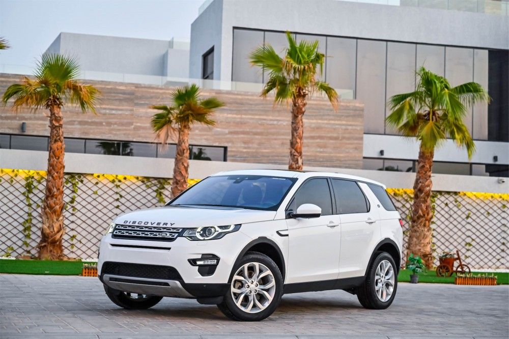 buy used Land Rover Discovery Sport HSE in Dubai