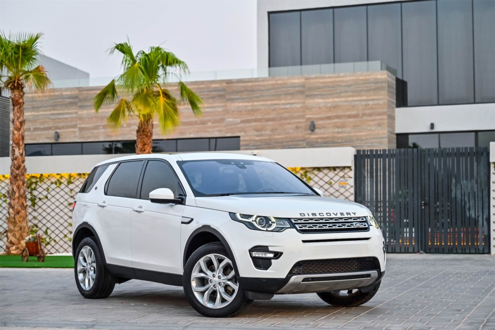 buy used Land Rover Discovery Sport HSE with warranty