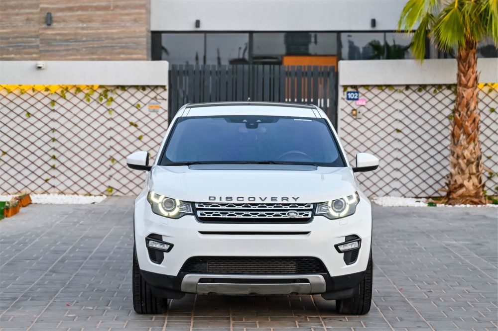 buy slightly used Land Rover Discovery Sport HSE in Dubai