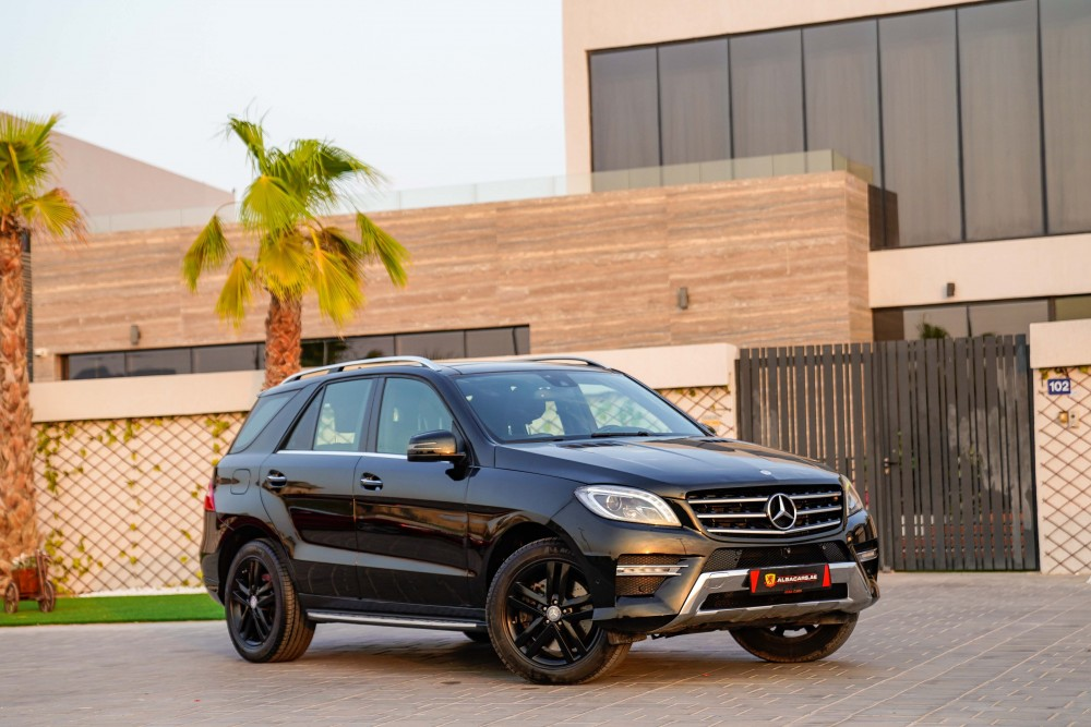 buy slightly used Mercedes Benz ML-400 AMG line with warranty