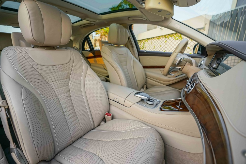 buy second hand Mercedes Benz S500 with warranty