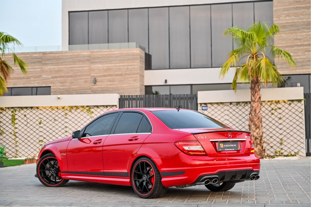 buy slightly used Mercedes Benz C63 AMG 507 Edition with warranty