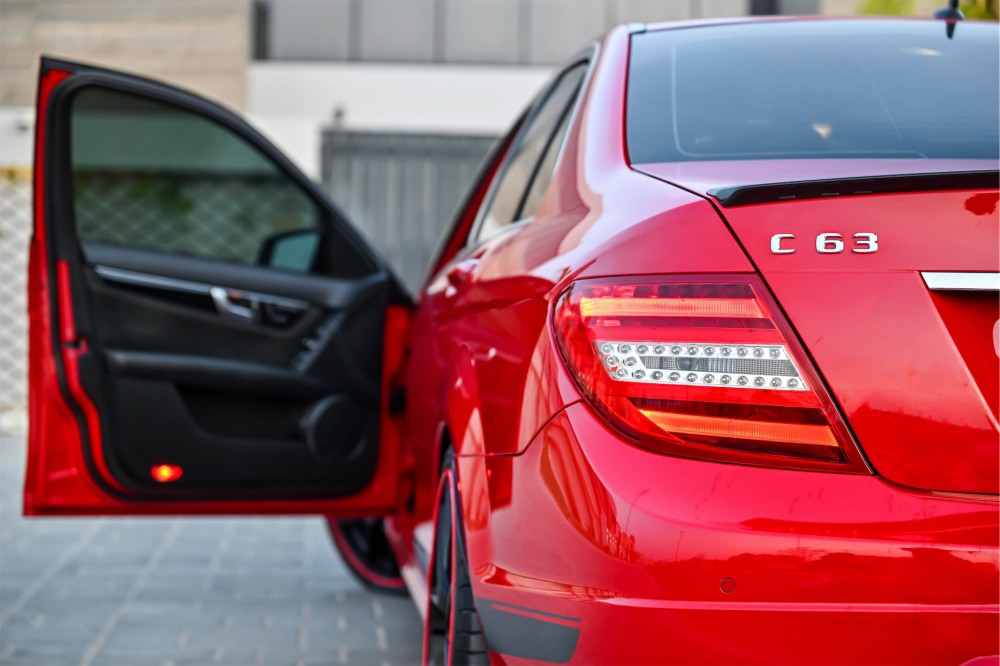 buy slightly used Mercedes Benz C63 AMG 507 Edition without downpayment