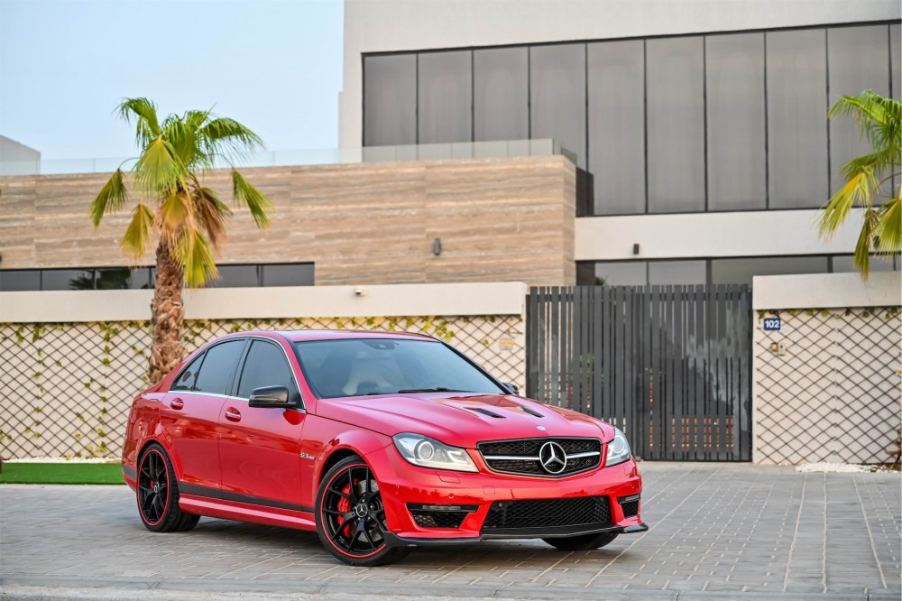 buy pre-owned Mercedes Benz C63 AMG 507 Edition with warranty