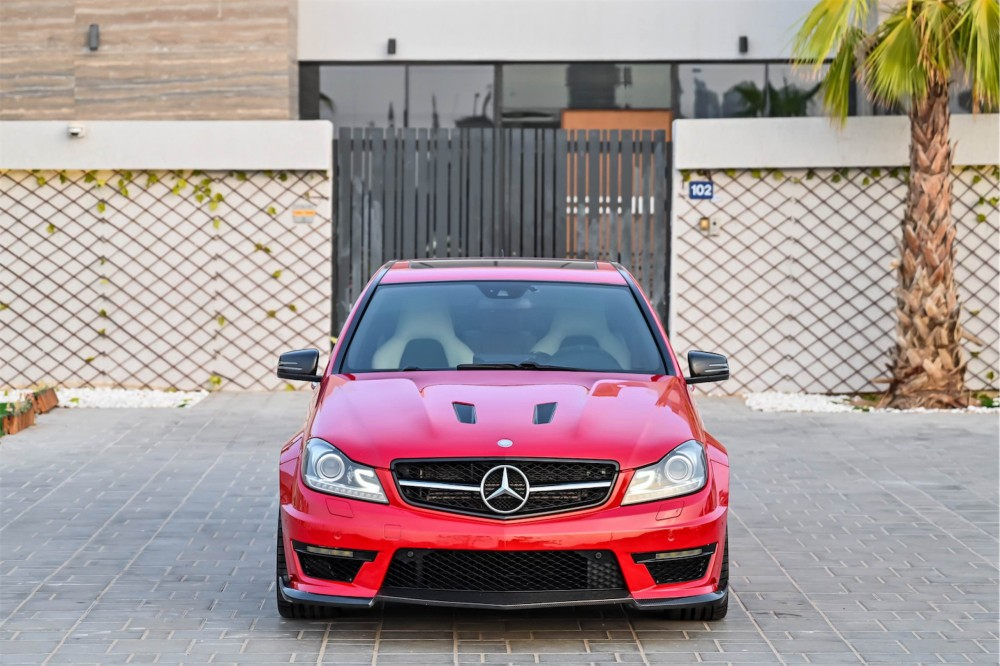 buy approved Mercedes Benz C63 AMG 507 Edition without downpayment