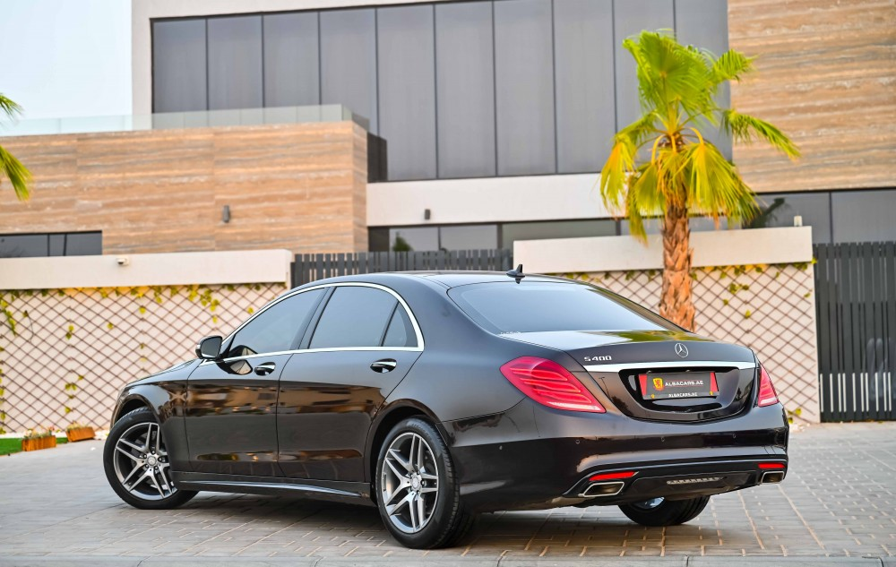 buy second hand Mercedes S400 with warranty