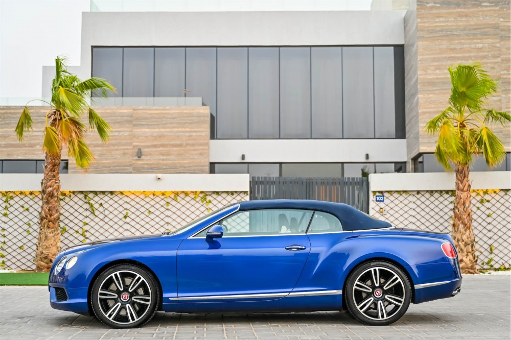 buy used Bentley Continental GTC 4.0L Twin Turbo without downpayment