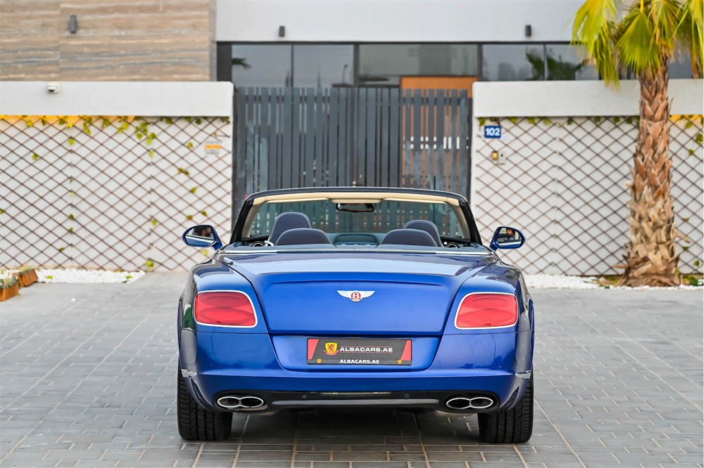 buy certified Bentley Continental GTC 4.0L Twin Turbo without downpayment