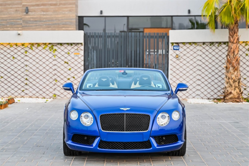 buy used Bentley Continental GTC 4.0L Twin Turbo with warranty