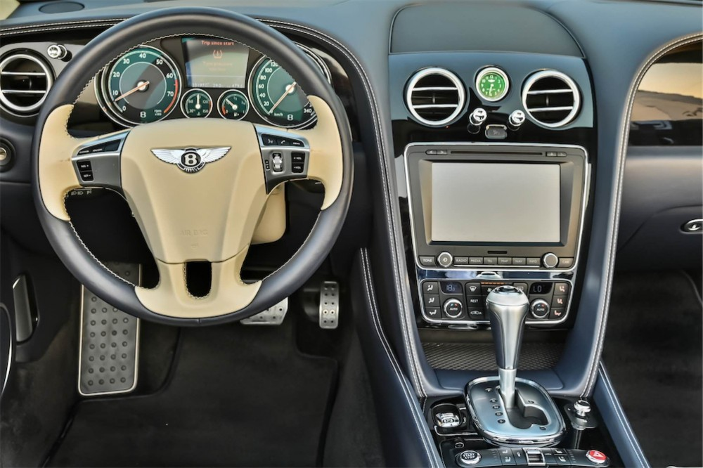 buy slightly used Bentley Continental GTC 4.0L Twin Turbo with warranty
