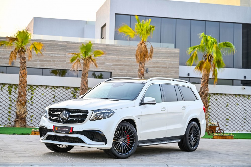 buy slightly used Mercedes-Benz GLS63 S AMG with warranty