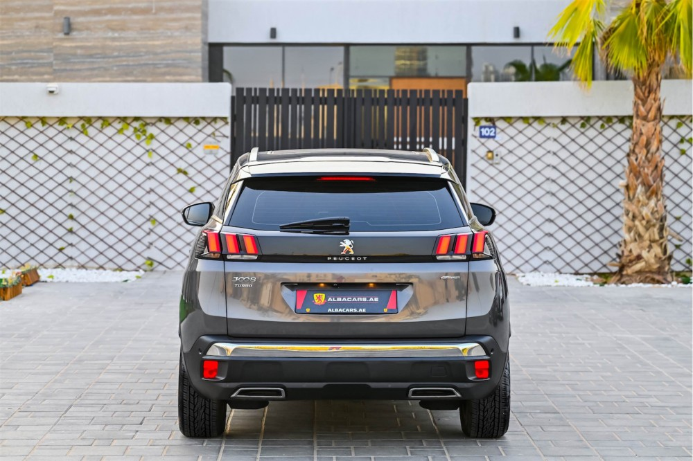 buy pre-owned Peugeot 3008 GT Line without downpayment