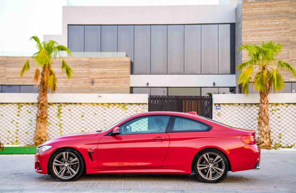 buy approved BMW 428i M-Sport without downpayment