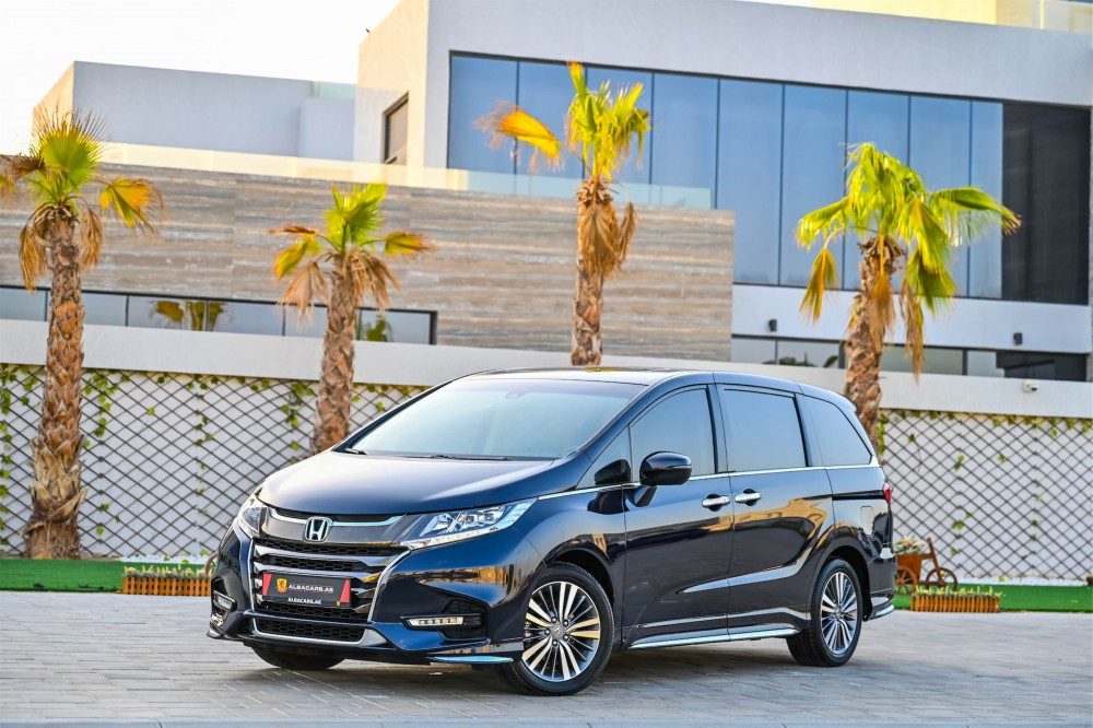 buy certified Honda Odyssey J without downpayment