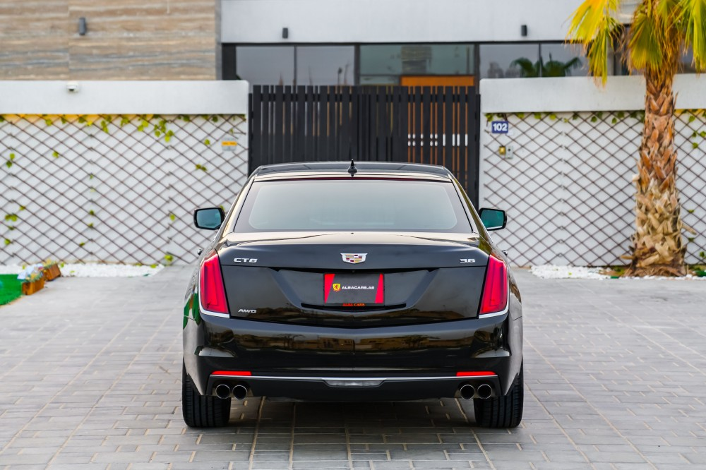buy used Cadillac CT6 with warranty