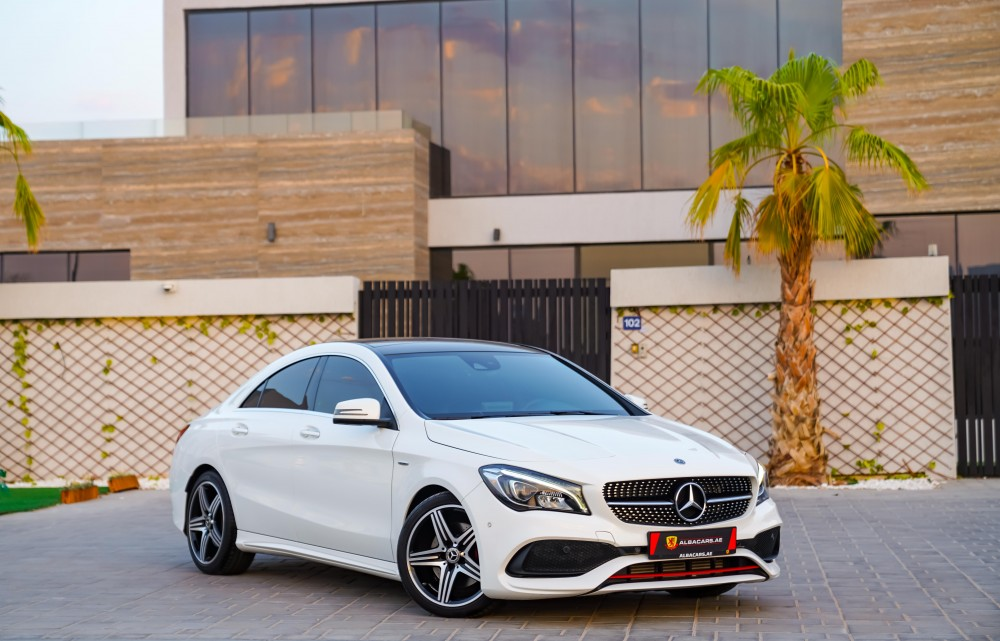 buy second hand Mercedes CLA 250 Sport with warranty