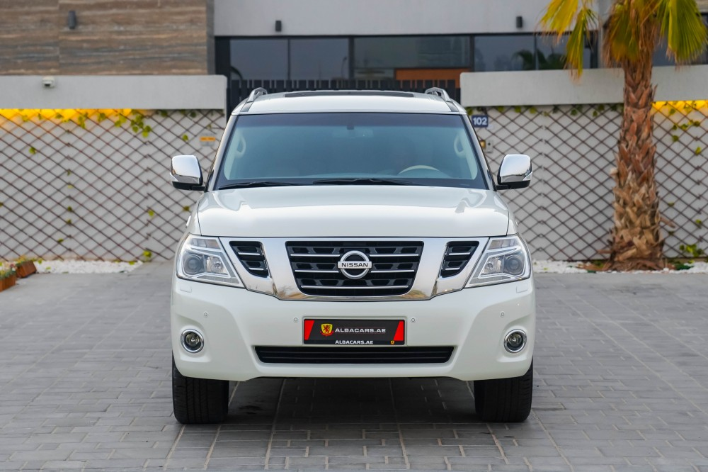buy pre-owned Nissan Patrol SE 5.6L with warranty