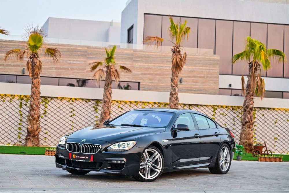 buy second hand BMW 640i GranCoupe in UAE