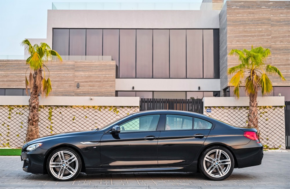 buy slightly used BMW 640i GranCoupe without downpayment