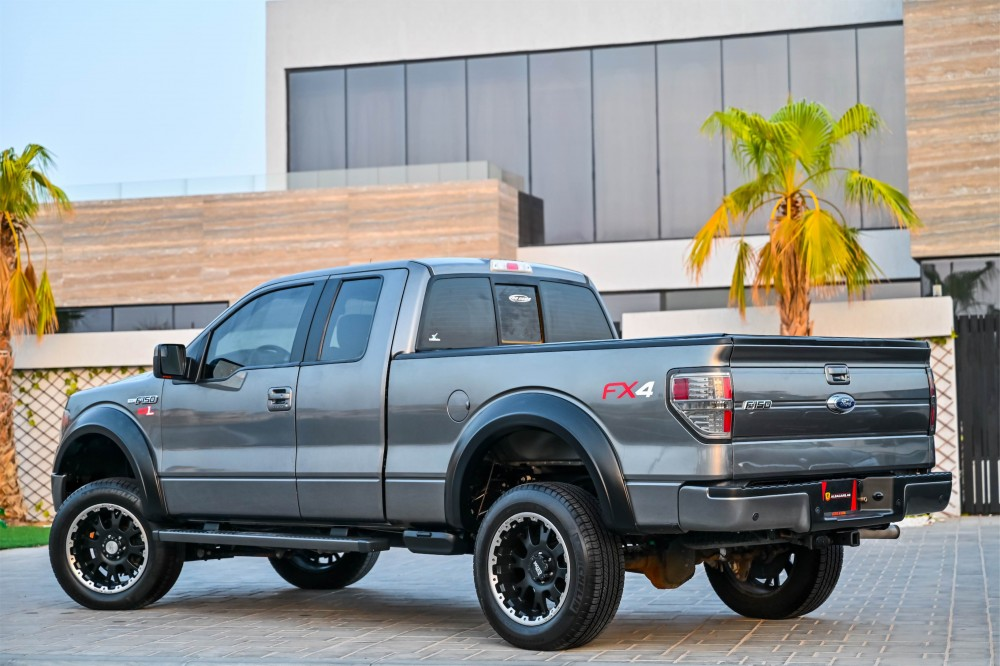 buy second hand Ford F-150 6.2 FX4 with warranty
