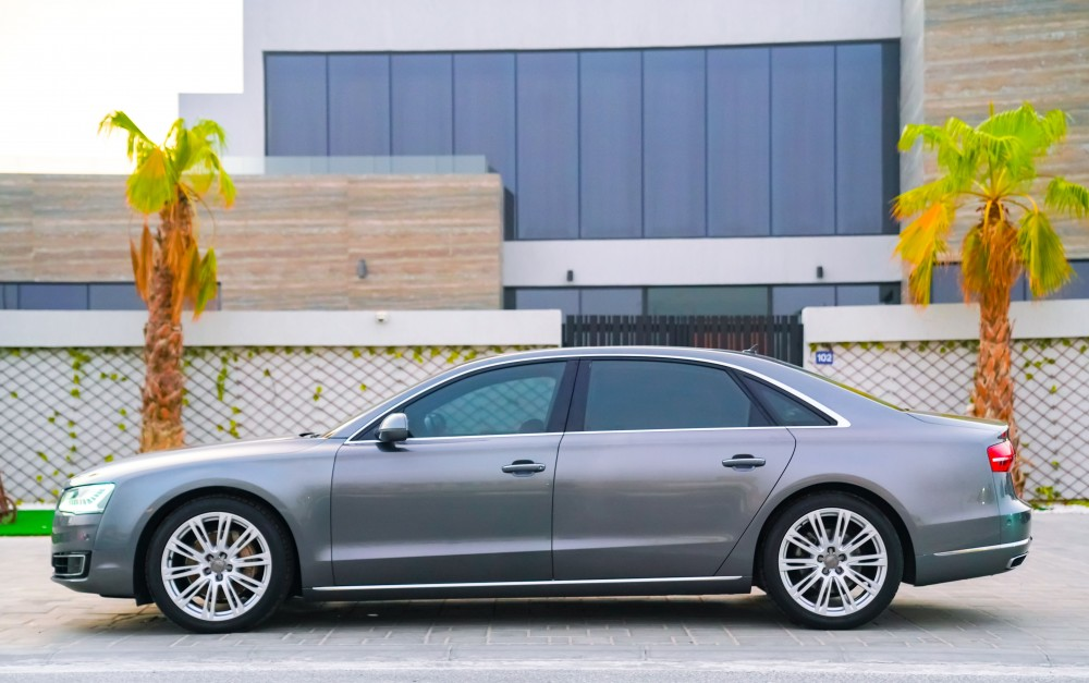 buy slightly used Audi A8L without downpayment