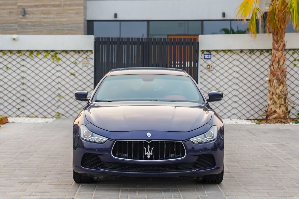 buy certified Maserati Ghibli without downpayment