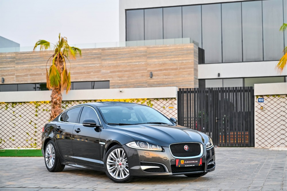 buy slightly used Jaguar XF Supercharged with warranty