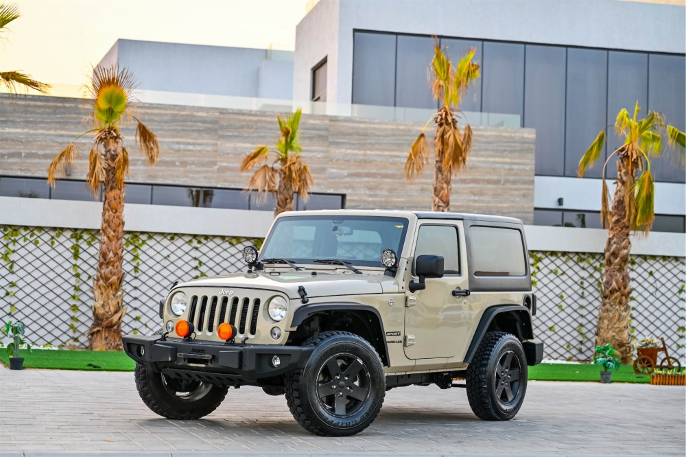 buy used Jeep Wrangler Willys Edition in Dubai