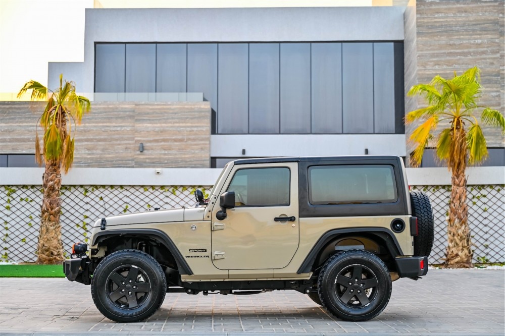 buy used Jeep Wrangler Willys Edition with warranty