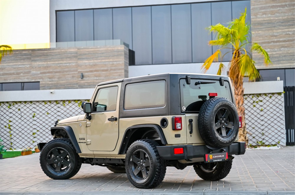 buy approved Jeep Wrangler Willys Edition in UAE