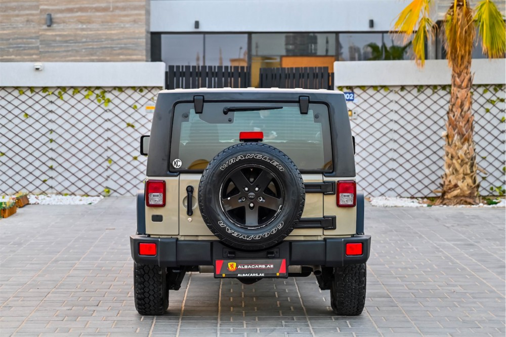 buy pre-owned Jeep Wrangler Willys Edition without downpayment