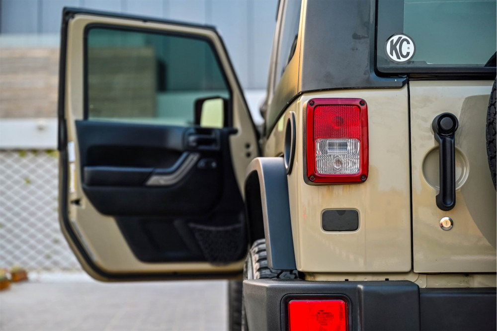 buy used Jeep Wrangler Willys Edition in UAE
