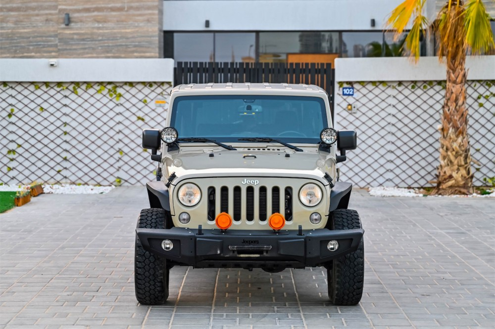 buy approved Jeep Wrangler Willys Edition with warranty