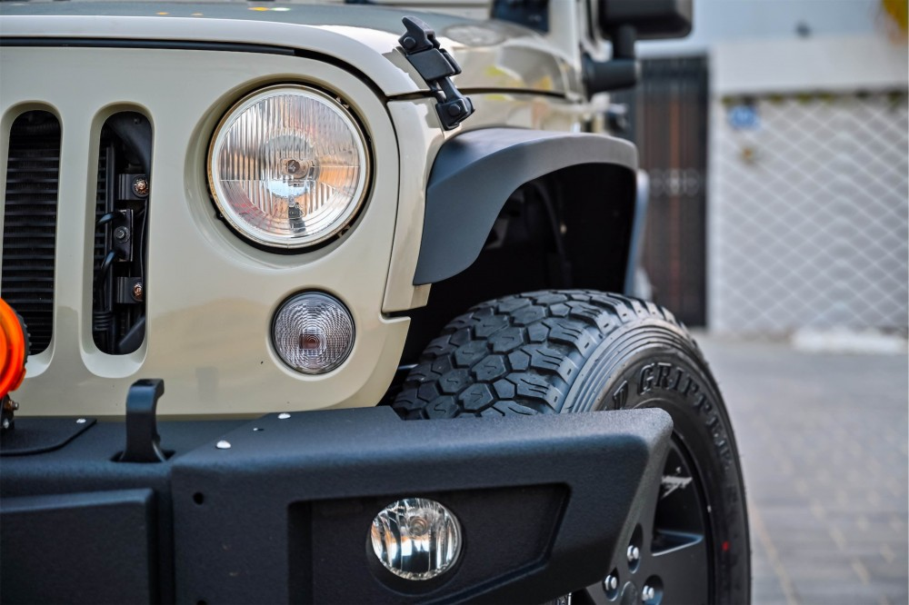 buy approved Jeep Wrangler Willys Edition in Dubai