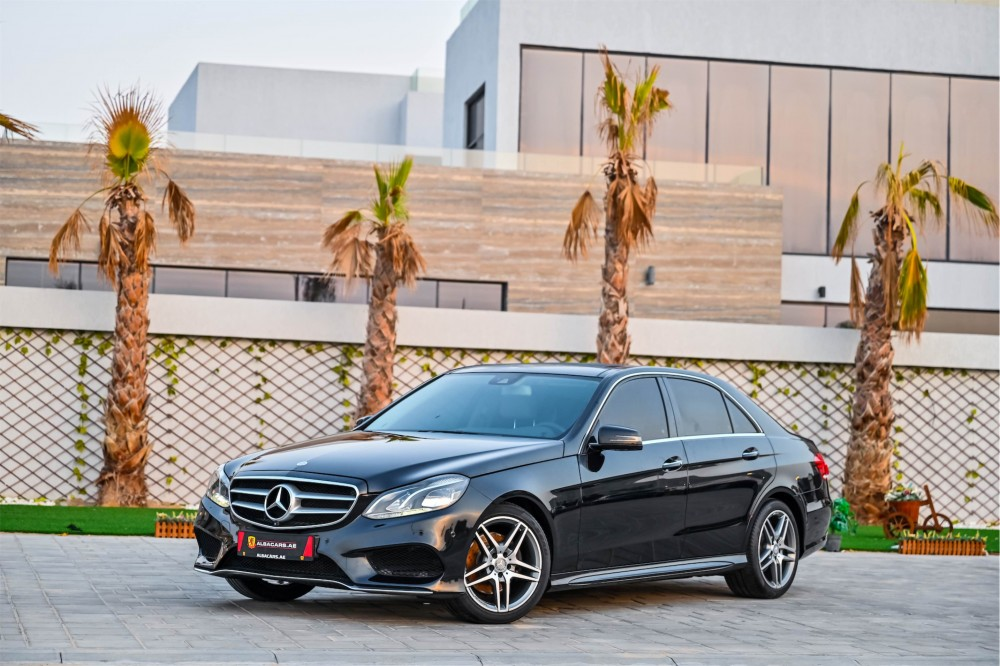 buy used Mercedes E300 AMG Line without downpayment