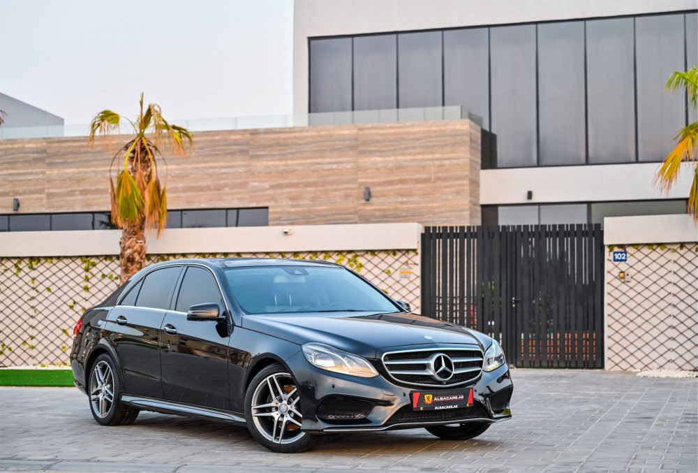 buy second hand Mercedes E300 AMG Line with warranty