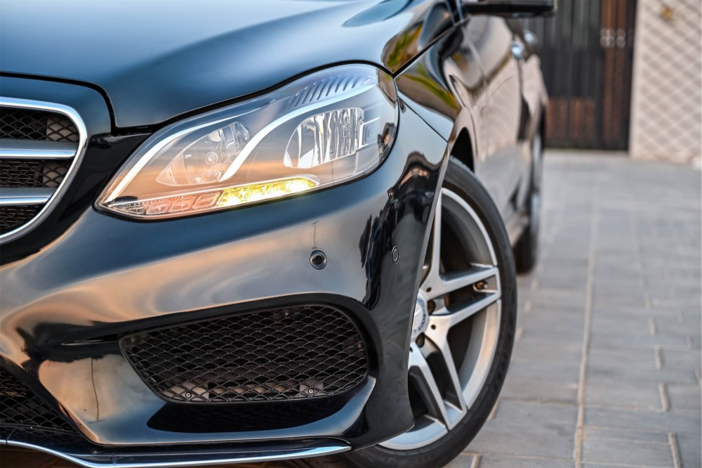 buy second hand Mercedes E300 AMG Line without downpayment