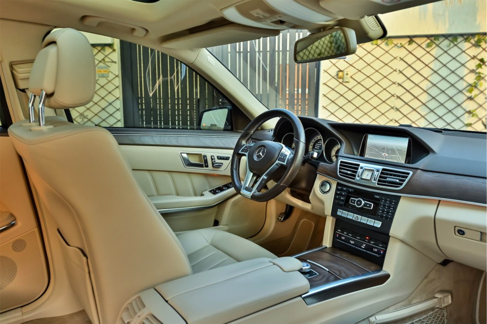 buy certified Mercedes E300 AMG Line without downpayment