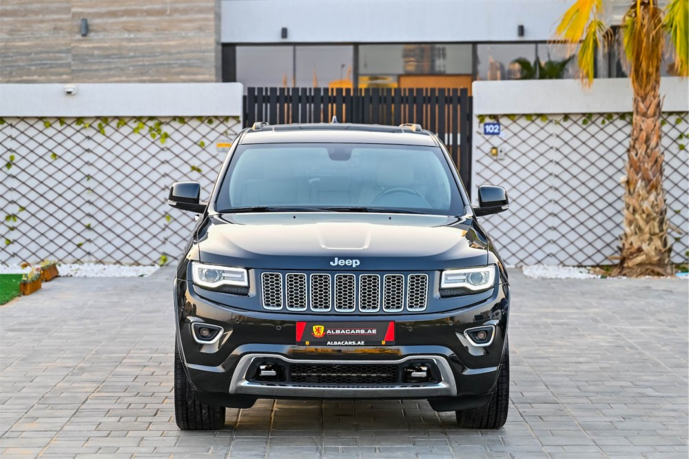 buy second hand Jeep Grand Cherokee Overland 5.7L in UAE