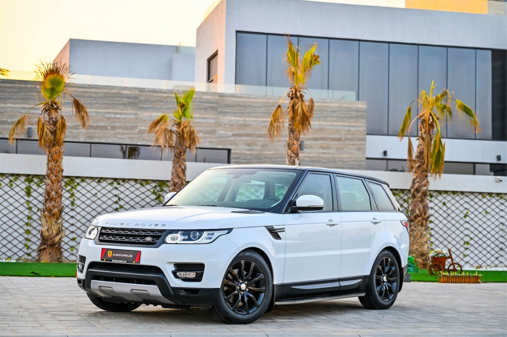 buy pre-owned Range Rover Sport HSE Supercharged in Dubai