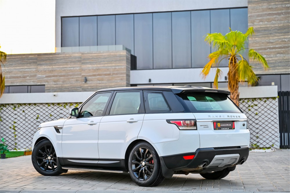 buy second hand Range Rover Sport HSE Supercharged in UAE