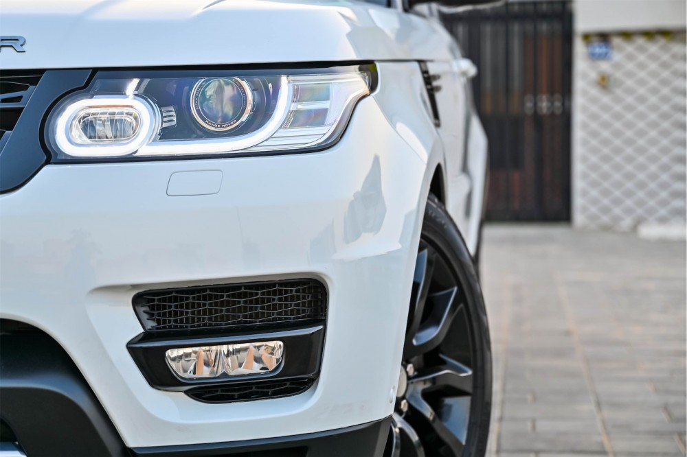 buy second hand Range Rover Sport HSE Supercharged with warranty