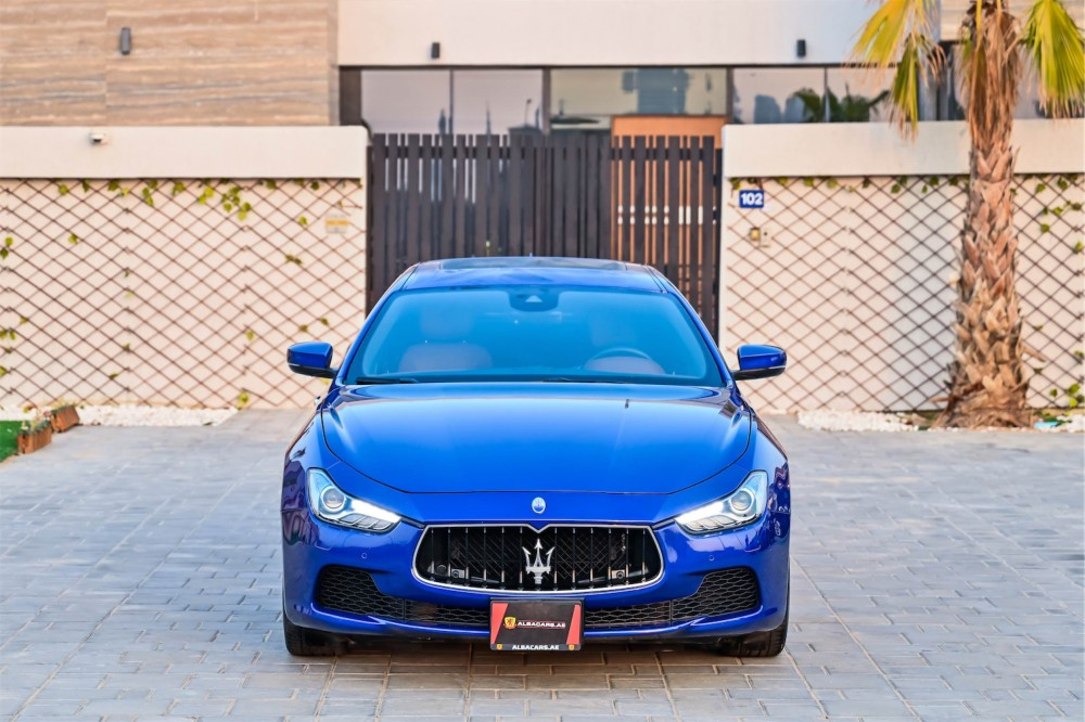 buy used Maserati Ghibli S without downpayment