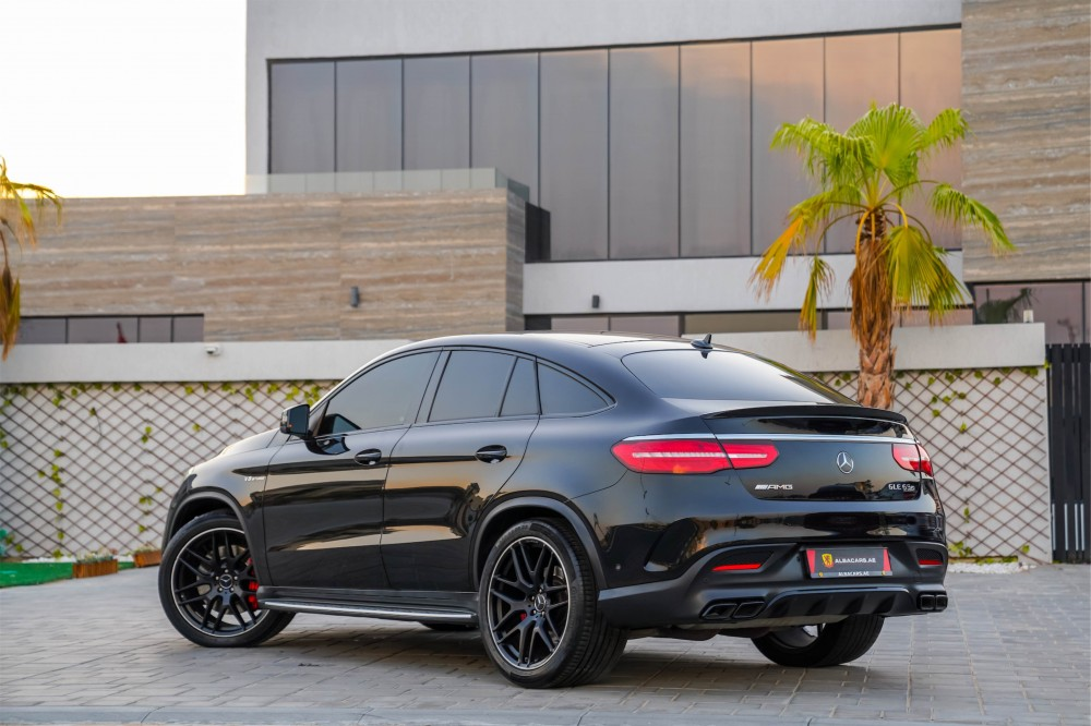 buy certified Mercedes-Benz GLE 63 AMG Coupe with warranty