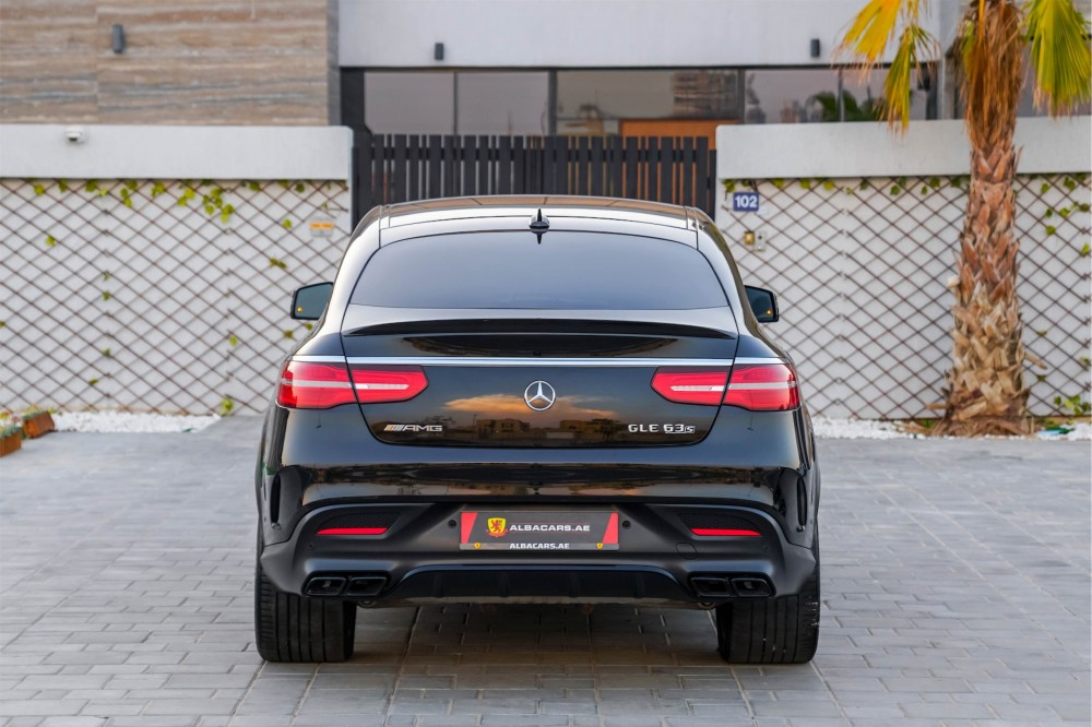buy certified Mercedes-Benz GLE 63 AMG Coupe without downpayment