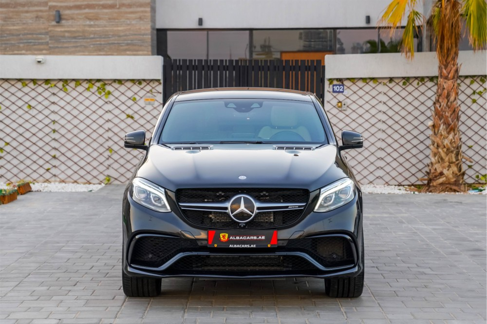 buy slightly used Mercedes-Benz GLE 63 AMG Coupe in Dubai