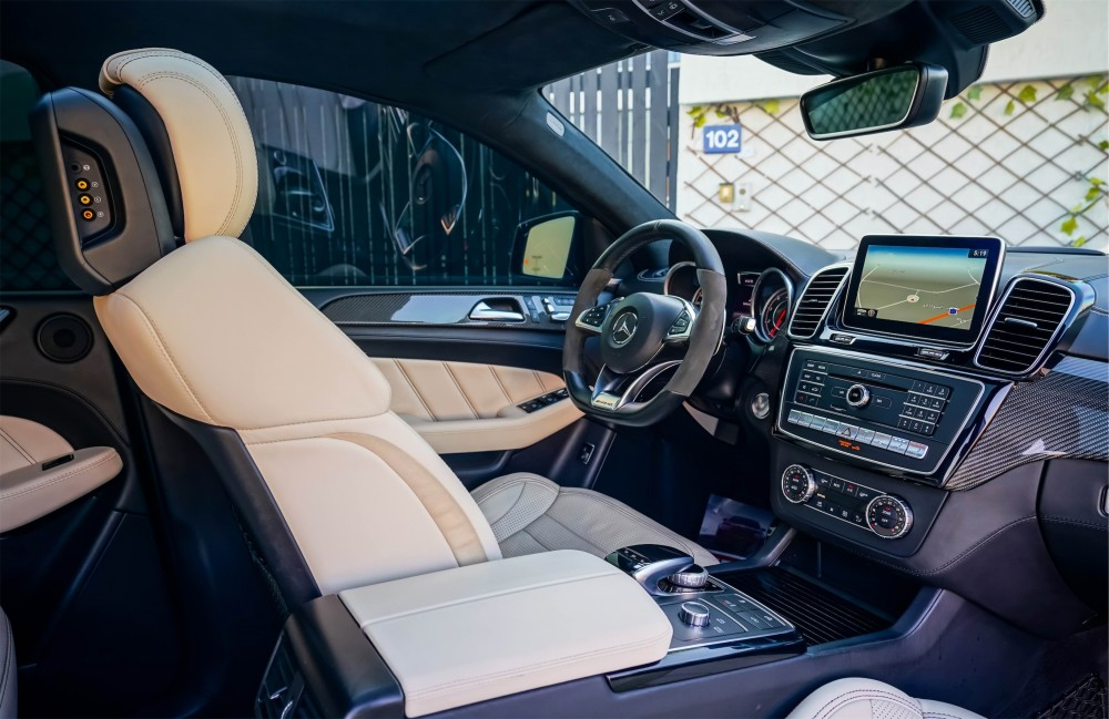 buy used Mercedes-Benz GLE 63 AMG Coupe with warranty